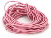 10 Metres 2mm Pink Round Geniune Leather Cord Jewellery Good for DIY Ideas