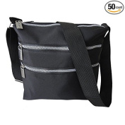 Premium Connexion 170-CBMF Roberto Amee Microfiber Cross Body Bag - Case of 50