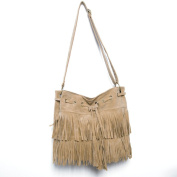 Good Looking Oval Fringe Handbag Shoulder Bags Fringed Bag for Ball Party Show