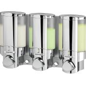 Better Living Products Aviva III Chamber Dispenser in Chrome