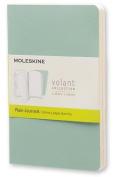 Moleskine Volant Journal (Set of 2), Pocket, Plain, Sage Green, Seaweed Green, Soft Cover