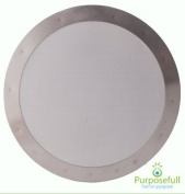 Purposefull Reuseable Metal Filter for Aeropress Coffee Maker - Fine Mesh - Supporting Fairtrade - Allows Natural Oils - Removes Paper Taste