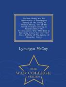 William McCoy and His Descendants