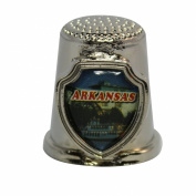 Souvenir Thimble - Arkansas