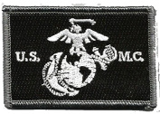 USMC Tactical Patch - Black & White