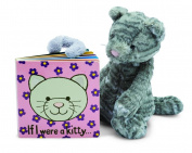 Jellycat Board Books, If I Were a Kitty - 15cm