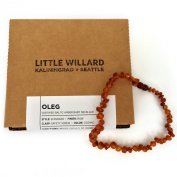 Pure Baltic Amber Teething Necklace By Little Willard