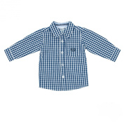 Feetje Baby Boys' Chequered Shirt Blue/white