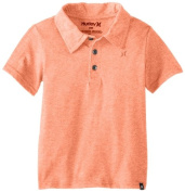 Hurley Baby-Boys Infant Dialled Triblend Polo, Bright Orange, 18 Months Colour