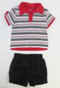 Okie Okie Infant Polo and Shorts (12 Months) Size