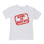 MADE IN BRITAIN- Patriotic baby and toddler summer t-shirt from Ice-Tees