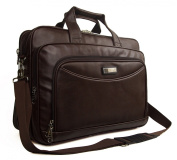 High Quality Mens Womens Faux Leather Ocello Laptop Business Bag Work Briefcase