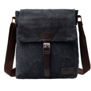 Nk's Store Men's Canvas Vintage Casual Bag, Shoulder Cross-body HandBag for Men. Small Men's Bag with fashionable and stylish Design, Good for hiking and camping