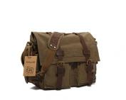 kingdo New Men Women Cross Body Retro Fashion Casual Style Messenger Canvas Shoulder Bag School Travel Bag