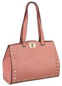 EyeCatch - Lilith Smart Ladies Faux Leather Womens Designer Bag Handbag