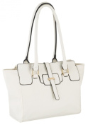 EyeCatch - Smart Ladies Handbag Ivana Faux Leather Womens Bag
