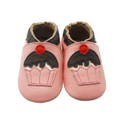Sayoyo Baby Infant Toddler Pink Cake Soft Sole Leather Shoes 12-18months Pink