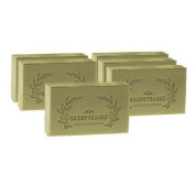 "Renowned ""Greek Papoutsanis Olive Oil Bar Soap"" 96 Pieces (125 Grammes Olive Oil Bar Soaps) included in case"