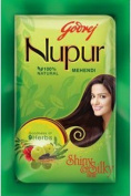 Godrej Nupur Mehendi Powder 9 Herbs Blend, 150-gramme (6 PACK) by Godrej