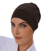 Yoga Cap Black, Exercise Cap, Hair Turban, Head Cover Chemo Hair Loss, Cotton