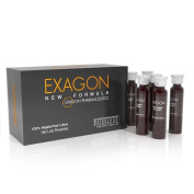 EXAGON 100% Vegetal Hair Lotion 12 monodoses + Hair Loss Control Shampoo