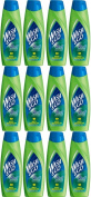 TWELVE PACKS of Wash & Go 2in1 Anti-Dandruff Shampoo & Conditioner 200ml