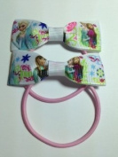 Frozen grosgrain ribbon girls fashion boutique hair bows - hair accessories baby girl