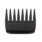 Mytoptrendz Black Small Wide Teeth Hair Comb The Streaker Comb