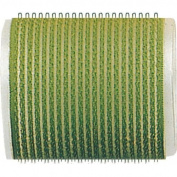 Fripac-Medis Le Coiffeur Self-Holding Hair Rollers Diameter 60 mm [Bag of 6] Green