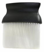 Professional Hairdresser's Neck Brush - Great Value, Wide Profile Brush