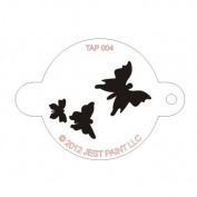 TAP Re-useable Face Paint Stencils - TAP004 Butterflies