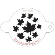 TAP Re-useable Face Paint Stencils - TAP028 Leaves