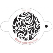 TAP Re-useable Face Paint Stencils - TAP022 Swirly
