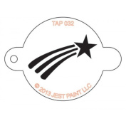 TAP Re-useable Face Paint Stencils - TAP032 Shooting Star