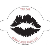 TAP Re-useable Face Paint Stencils - TAP042 Lip Print