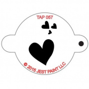 TAP Re-useable Face Paint Stencils - TAP057 My Valentine