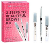 Billion Dollar Brows 3 Steps To Beautiful Brows Kit, Holiday Edition