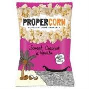 Propercorn Sweet Coconut Vanilla Popcorn 90g x 3