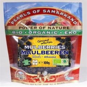 Pearls of Samarkand Org Black Mulberries 100g x 1