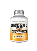 Efectiv Sports Nutrition Omega 3 Sport Softgels - Pack of 180
