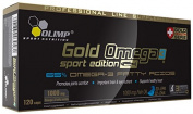 Gold Omega 3, Sport Edition - 120 caps by Olimp Nutrition M
