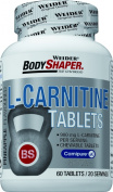 Weider Body Shaper L-Carnitine Pineapple - Pack of 60 Chewing Tablets