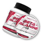 Beta-Alanine 700 - 120 caps - Amino-Acid increases the amount of work you can perform at high intensities