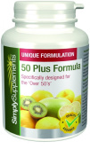 SimplySupplements 50 Plus Formula|Great for the over 50's!| 120 Tablets