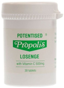 The House Of Mistry Potenised Propolis Lozenges With Vit C, 30 Lozenges