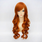 Women's Long Curly 70CM Fashion Party Cosplay Wig + Wig Cap