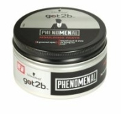 3 x Schwarzkopf Got2b Phenomenal Moulding Paste 100ml