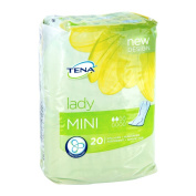 Tena Lady Mini Sanitary Towels Pack of 20