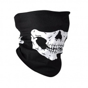 Homgaty Face Mask Multifunctional Skull Multi Bandana Neck Warmer