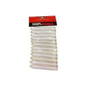 Hair Tools Perm Curlers White 6mm 12 Pack